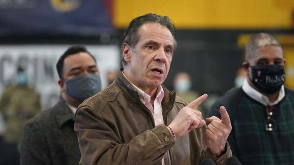 紐約州議會投票通過 撤銷州長庫默緊急行政權