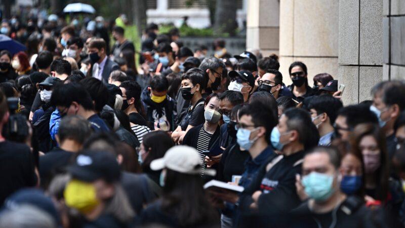 香港民主派47人被控罪 多國外交官排隊旁聽