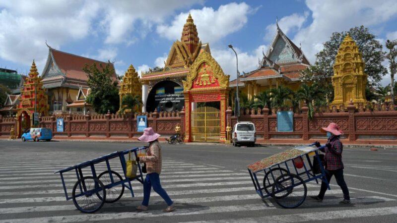 中國人賄賂警衛逃脫隔離 引發柬埔寨最大社區感染