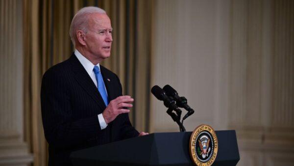 拜登说愿接受民主党议员提问 白宫视频突然中断