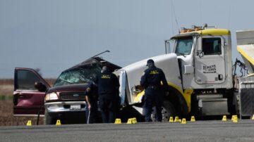 加州邊境超載休旅車事故 27名無證客至少13人亡