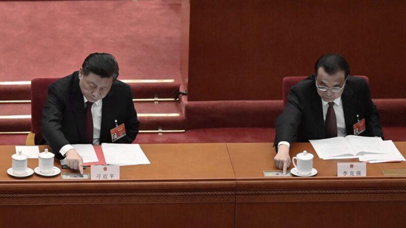 「香港選制」投票 李克強不再伸中指