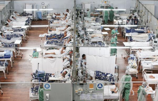 医疗系统吃紧 巴西圣保罗每2分钟1人染疫亡