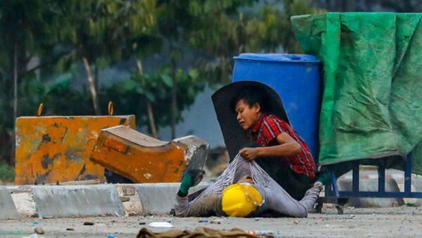 組圖:緬甸政變最血腥一天 14日逾39人死