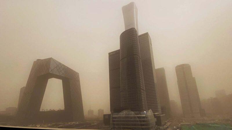 中國沙塵暴19日將二次來襲 趙立堅公開甩鍋蒙古