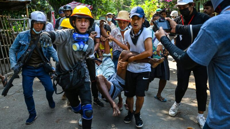 缅甸政变 欧盟制裁缅军总司令等11人