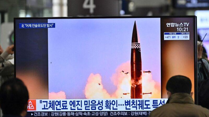 朝鮮試射飛彈 白宮稱拜登不見金正恩 金與正痛批文在寅