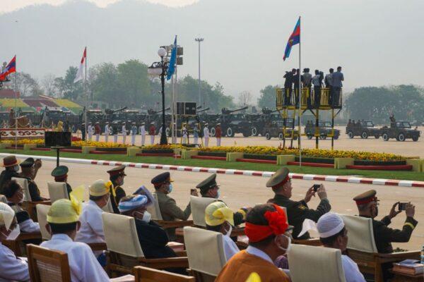 軍人節擬大示威 緬甸軍方警告從頭部射殺