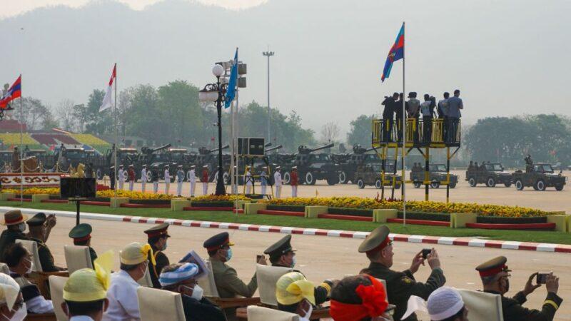 军人节拟大示威 缅甸军方警告从头部射杀