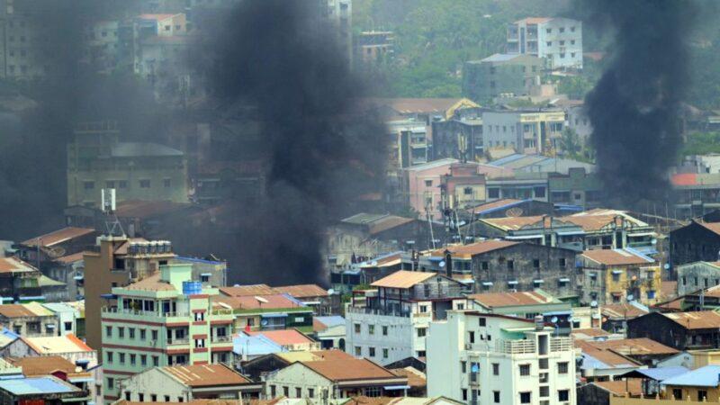 缅甸美國文化中心遭槍擊 仰光局勢惡化難民大逃亡