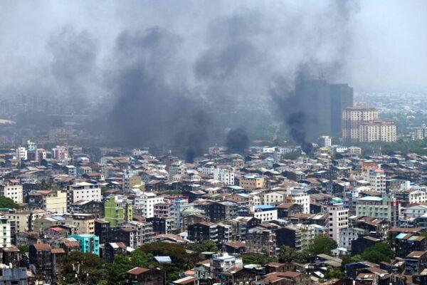 缅甸军人节成街头屠杀日 逾50抗议者遭击毙