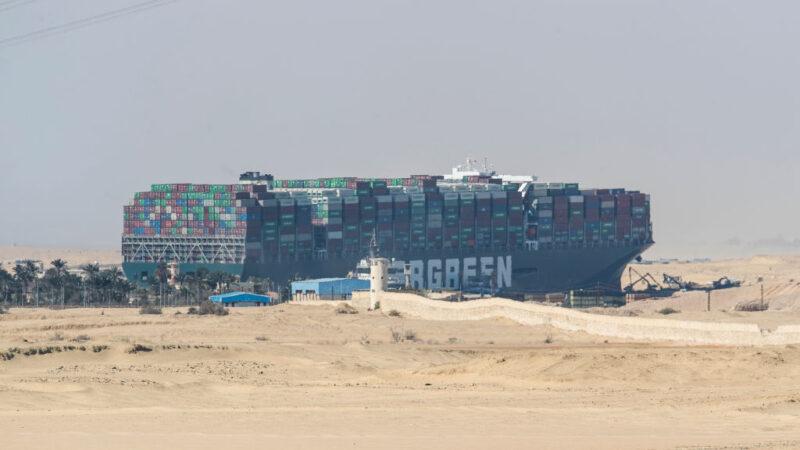 長榮貨輪卡運河6天 拖曳船馳援傳48小時內可移動