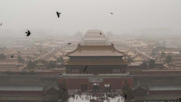 沙塵暴再襲北京又現藍太陽 13省市同遭殃
