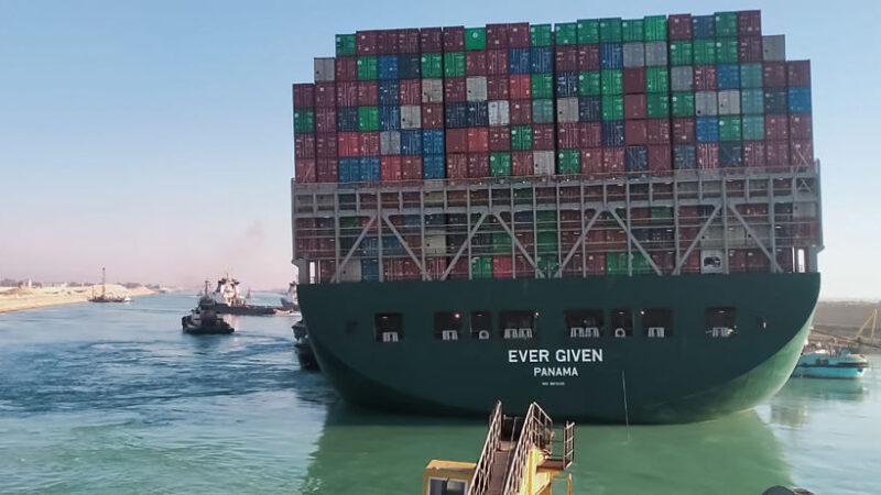 苏伊士运河恢复航运 巨额损失恐面临诉讼