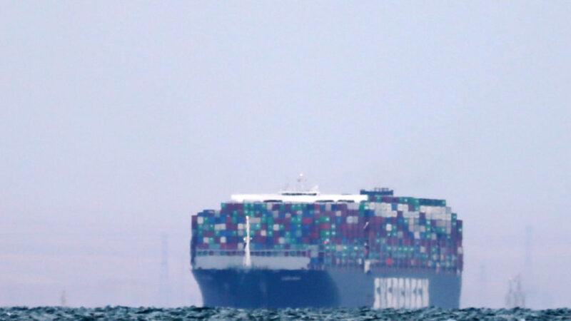 長賜輪卡運河近一週 需4天消化塞船 難題還未了