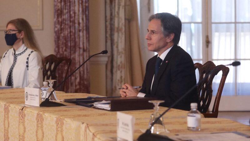 【重播】布林肯与联合国代表新闻发布会(同声翻译)