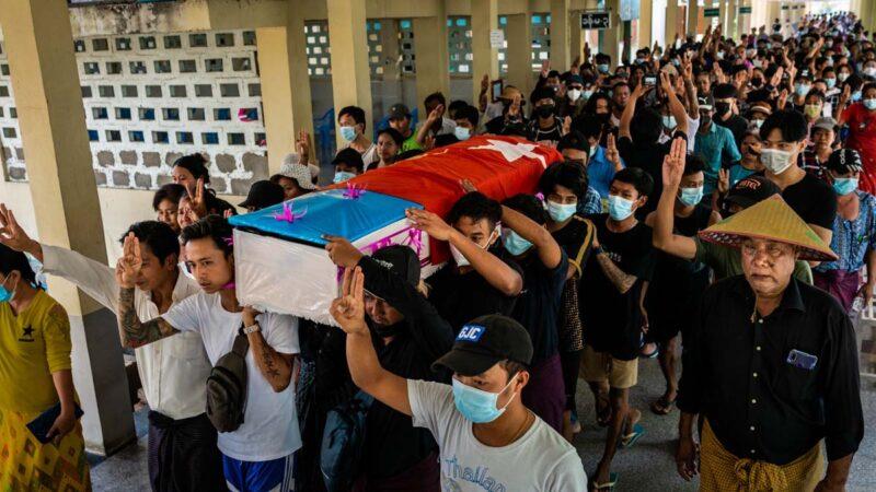 7歲女童被緬軍槍殺 緬甸發起無聲罷工避免流血