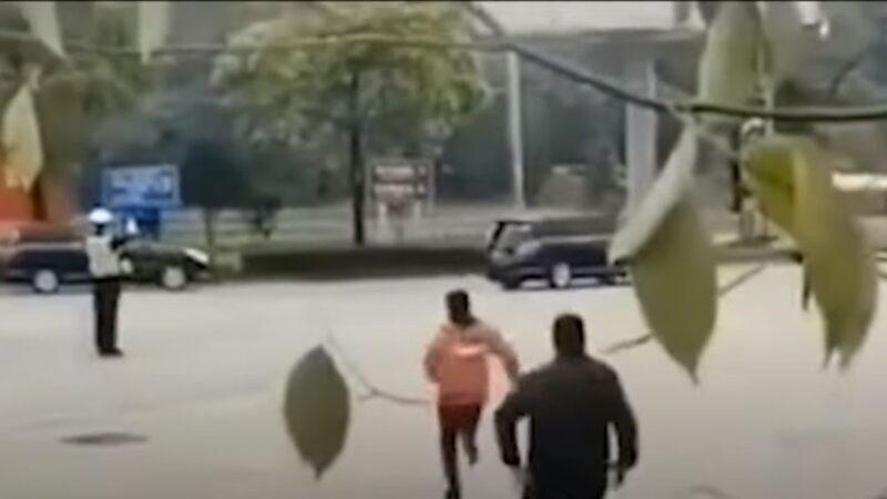 傳女子攔習近平座駕下跪 車隊無視繼續開(視頻)