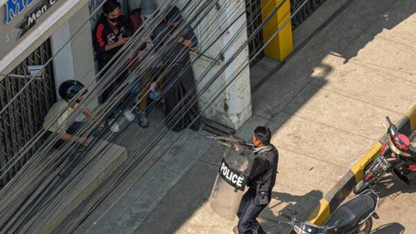 組圖:緬甸軍方血腥鎮壓 一天至少18死