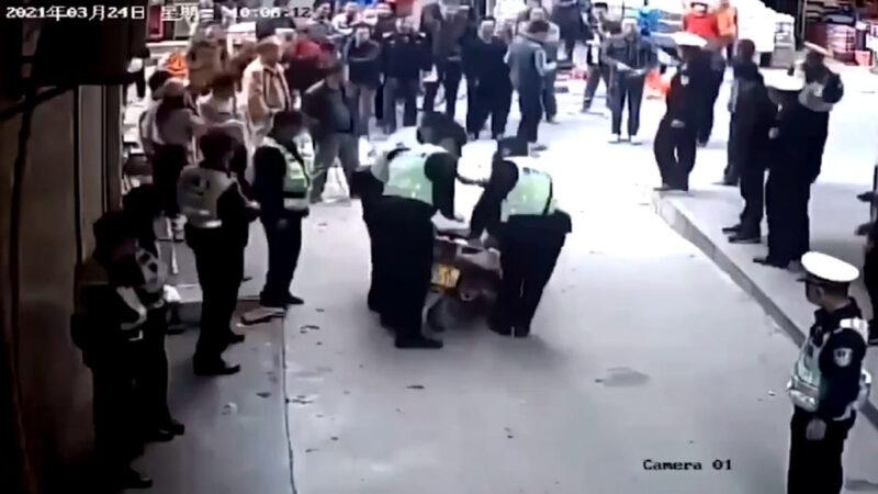 东莞全城清查摩托电动车 被批收了再卖循环割韭菜