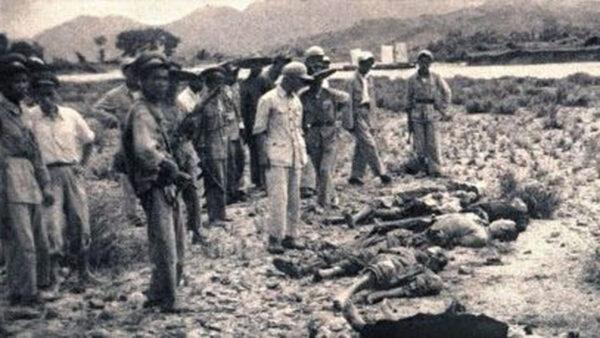 土改中的按比例殺人與反人類酷刑