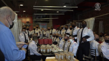 休斯頓警察學員參訪中國城 了解多元文化