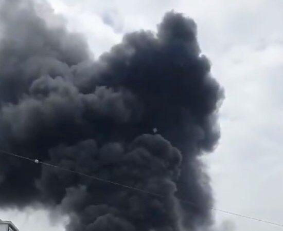 韩国工地大楼传火警 直升机出动救援已知1死17伤