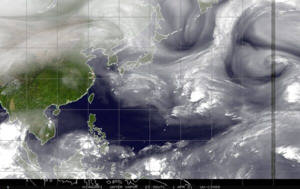 乾旱有針對性? 氣象專家一張圖:衝著台灣來