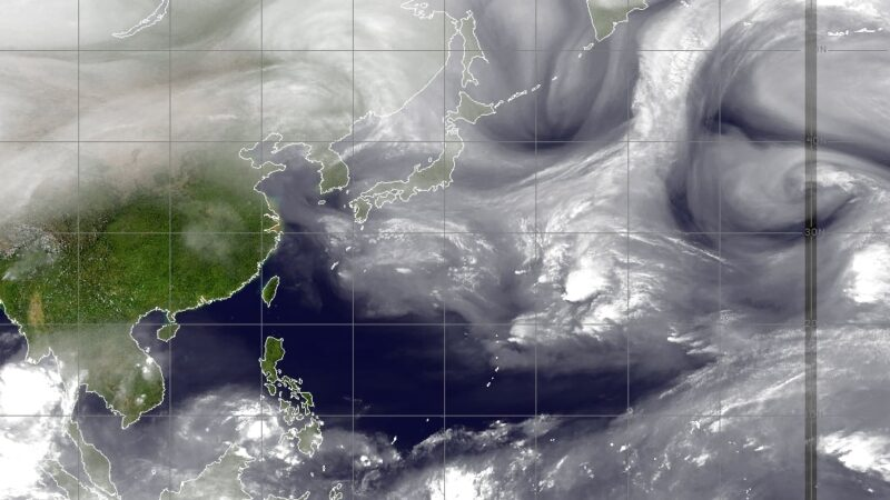 干旱有针对性? 气象专家一张图:冲着台湾来
