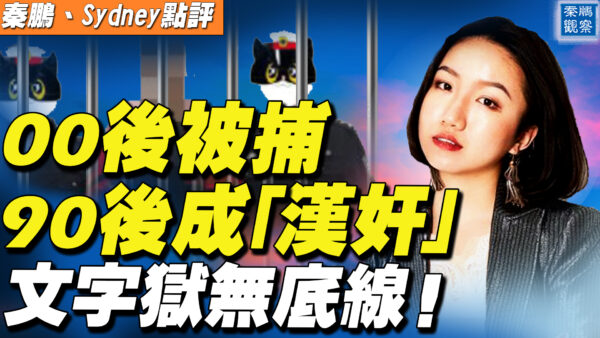 """【秦鹏直播】文字狱无底线 女记者成""""汉奸""""15岁男孩被捕"""