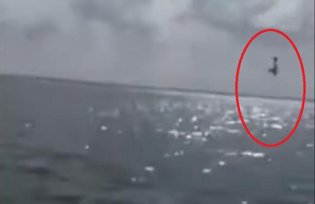 飛機表演空中特技 墨西哥民眾驚喜變驚嚇(視頻)
