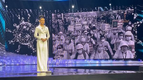 緬甸萬國小姐向聯合國喊話:你們還在等什麼?