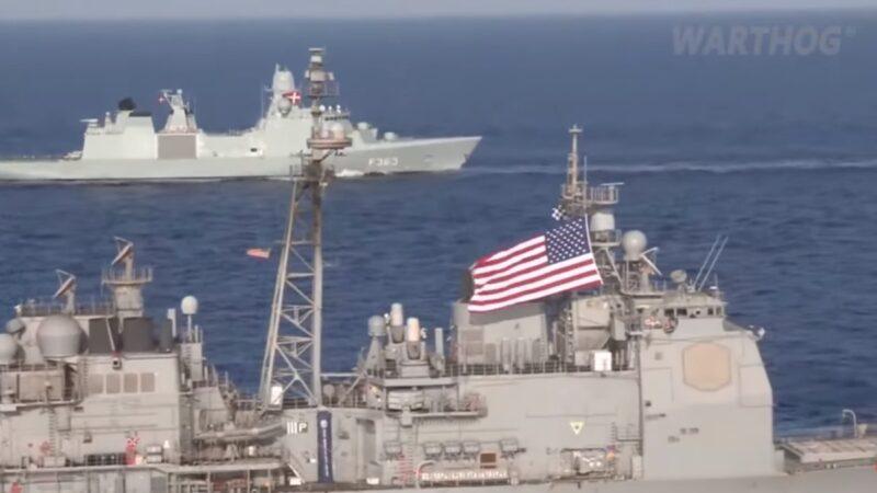 美军两艘军舰尚未抵达 俄军黑海进行实弹演习