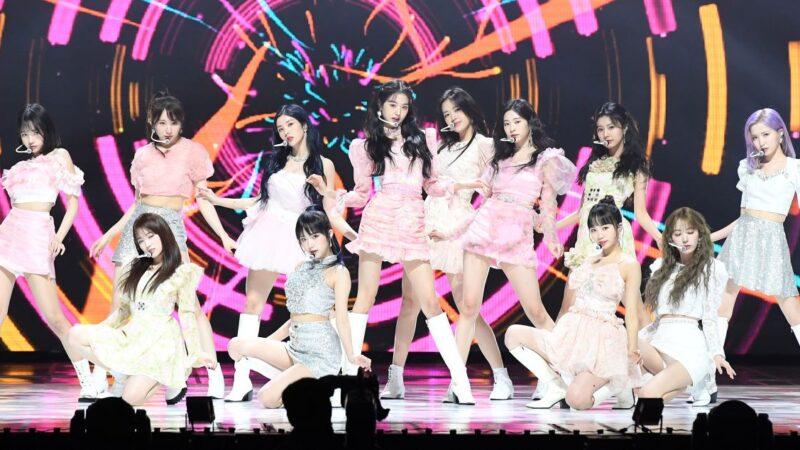 IZ*ONE日本演唱会DVD 空降公信榜周榜冠军