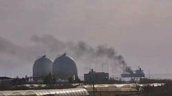 疑遭无人机攻击 伊朗油轮叙利亚外海失火至少3死