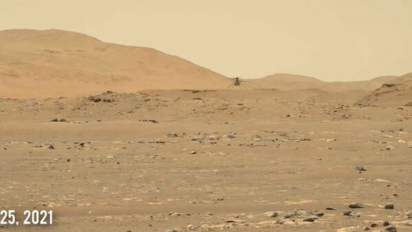 火星直升機第三次飛行 這次更大膽(視頻)