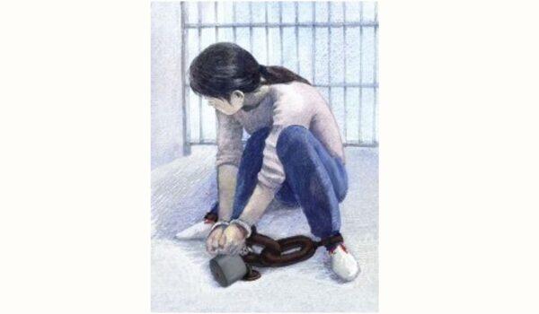 彭州徐志瓊被暴力綁架手折斷 遭重鐐酷刑臀部坐爛