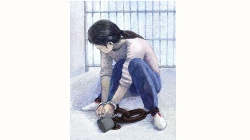 彭州徐志琼被暴力绑架手折断 遭重镣酷刑臀部坐烂