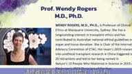 醫學教授:專業機構和人士需共同行動制止活摘器官