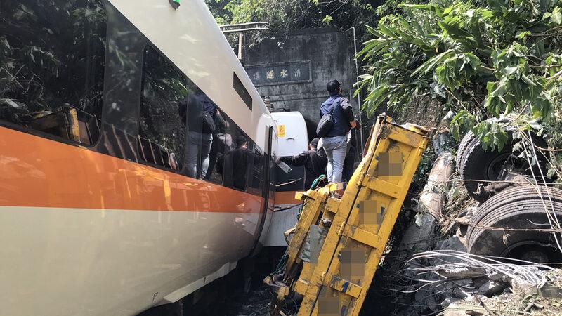 太魯閣號出軌 7、8節車廂最慘烈 30人無生命徵象