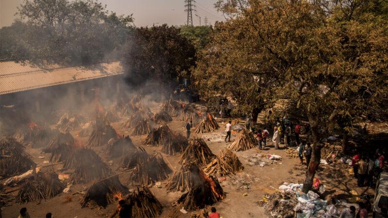 印度疫情危機加劇 加爾各答陽性率高達50%