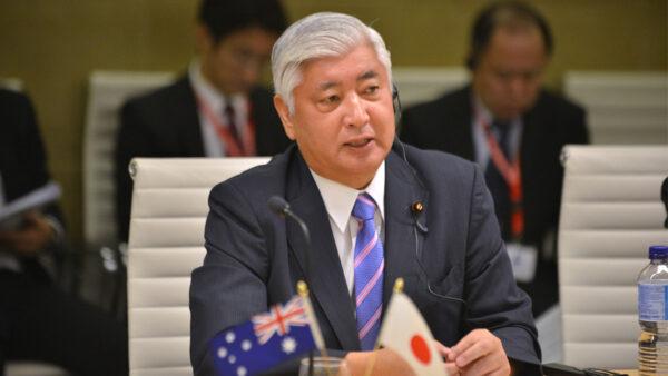 前日本防衛大臣:必須遏制中共的軍事崛起