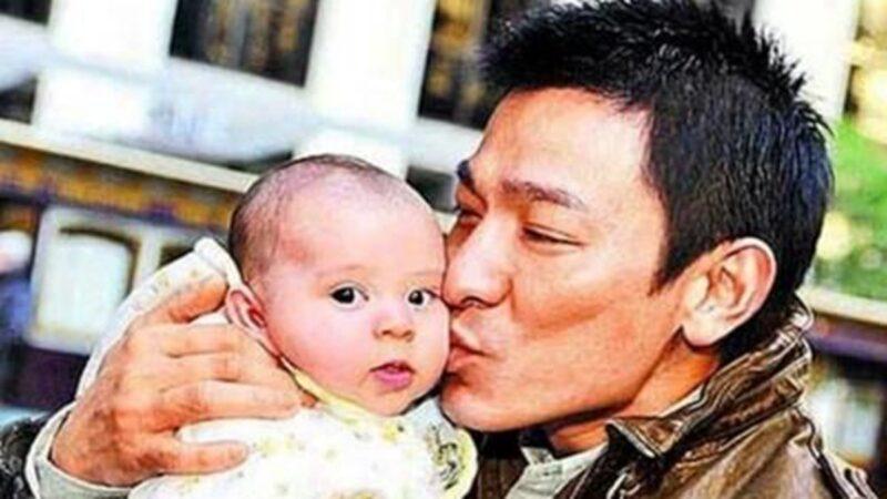 曾被劉德華親吻的嬰兒 長大後成了明星
