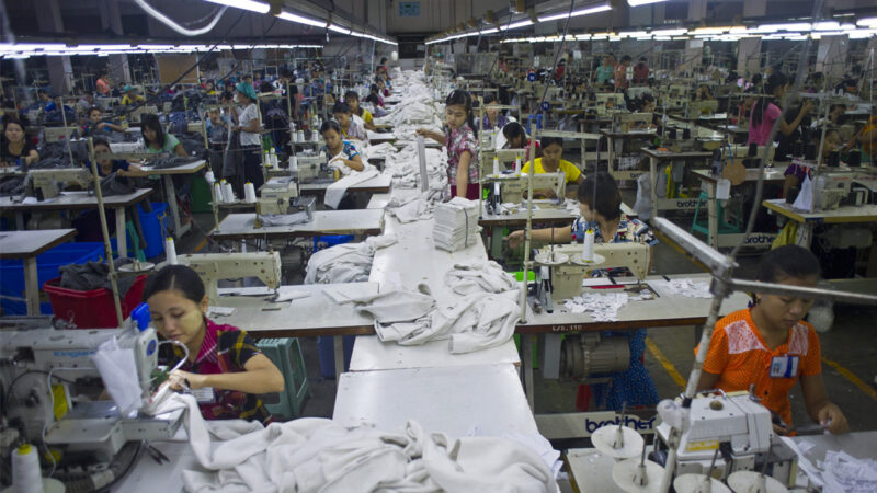 政变后缅甸服装业陷危机 中资工厂损失惨重