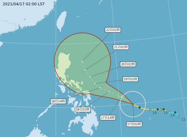 舒力基18日转强台 气象局:对中南部天气改变不大