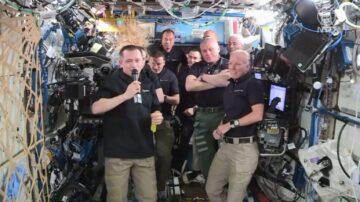 國際太空站指揮官交接  新任是休斯頓人