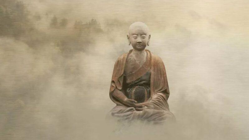 英探险家缅甸探险 惊见僧人盘坐飘浮升空