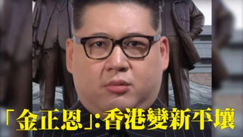 """""""金正恩"""":中央令香港变平壤(视频)"""