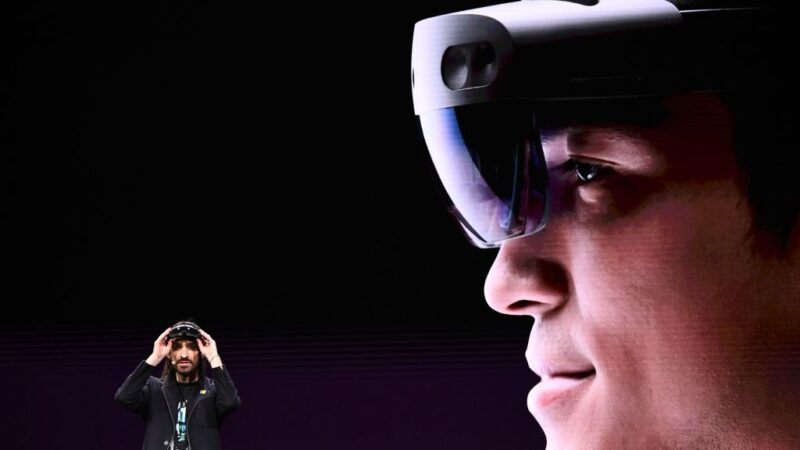 奪218.8億美元大單 微軟將供應美軍AR頭盔