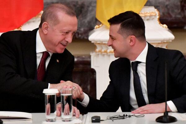 乌东危机黑海战云 土乌两领袖会谈强调和平合作